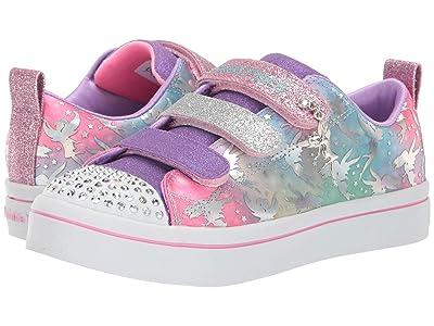 SKECHERS KIDS Twinkle Toes Twi-Lites Fairy Wishes 20263L (Little Kid/Big Kid) (Lavender/Multi) Girl