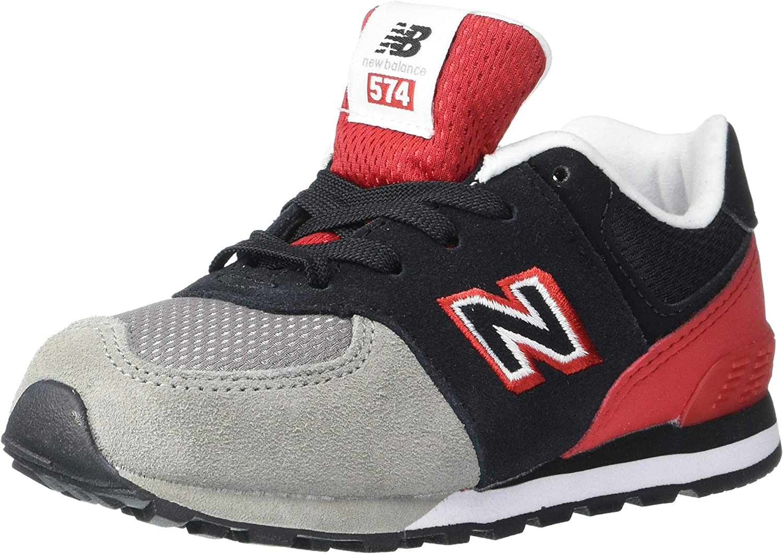 New Balance Unisex-Child 574 V1 Pack Lace-up Sneaker