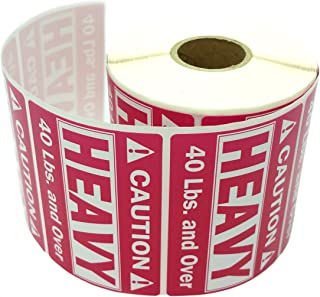 Heavy Pink Fragile Stickers Heavy Sticker Self Adhesive Handle with Care Warning Packing/Shipping Label - Waterproof (2