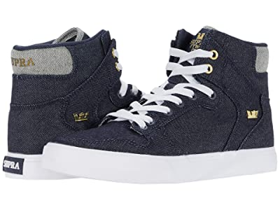 Supra Vaider (Denim/White) Men