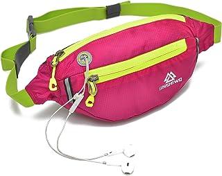 Uliteki Waist Bag for Women Men Gym Workout Yoga Travel Sport Outdoor Hiking Waist Bag, Waist Trainer Bag Pack