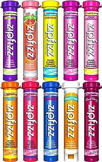 Zipfizz Healthy Energy Drink Mix, Ultimate 10 Flavor Variety Sampler