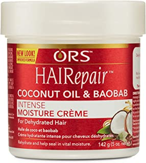 ORS HAIRepair Coconut Oil and Baobab Intense Moisture Creme 5 Ounce (Pack of 2)