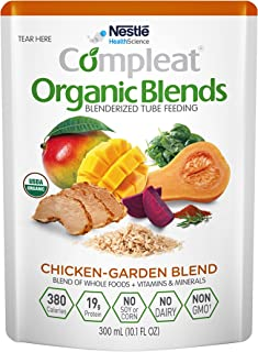 Sponsored Ad - Compleat Organic Blends Chicken-Garden, 10.1 fl oz Pouch, 8 Count