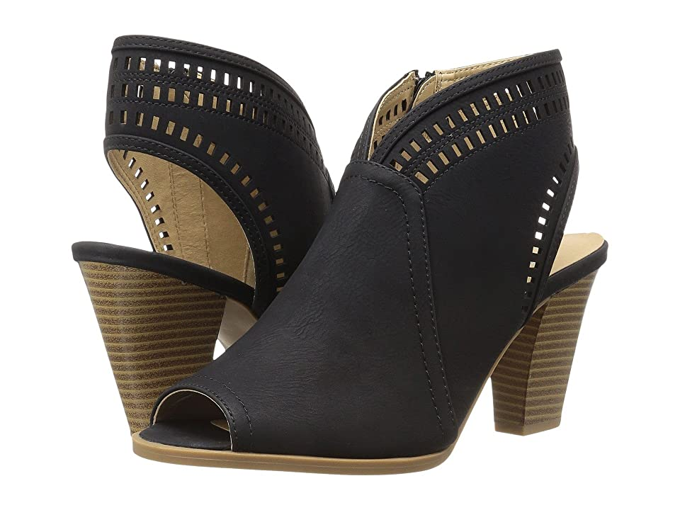 CL By Laundry Rylie (Black Smooth Nubuck) High Heels
