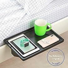 BedShelfie The Original Bedside Shelf - 9 Colors / 3 Sizes - AS SEEN ON Business Insider (Minimalist Style, Bamboo in Black)