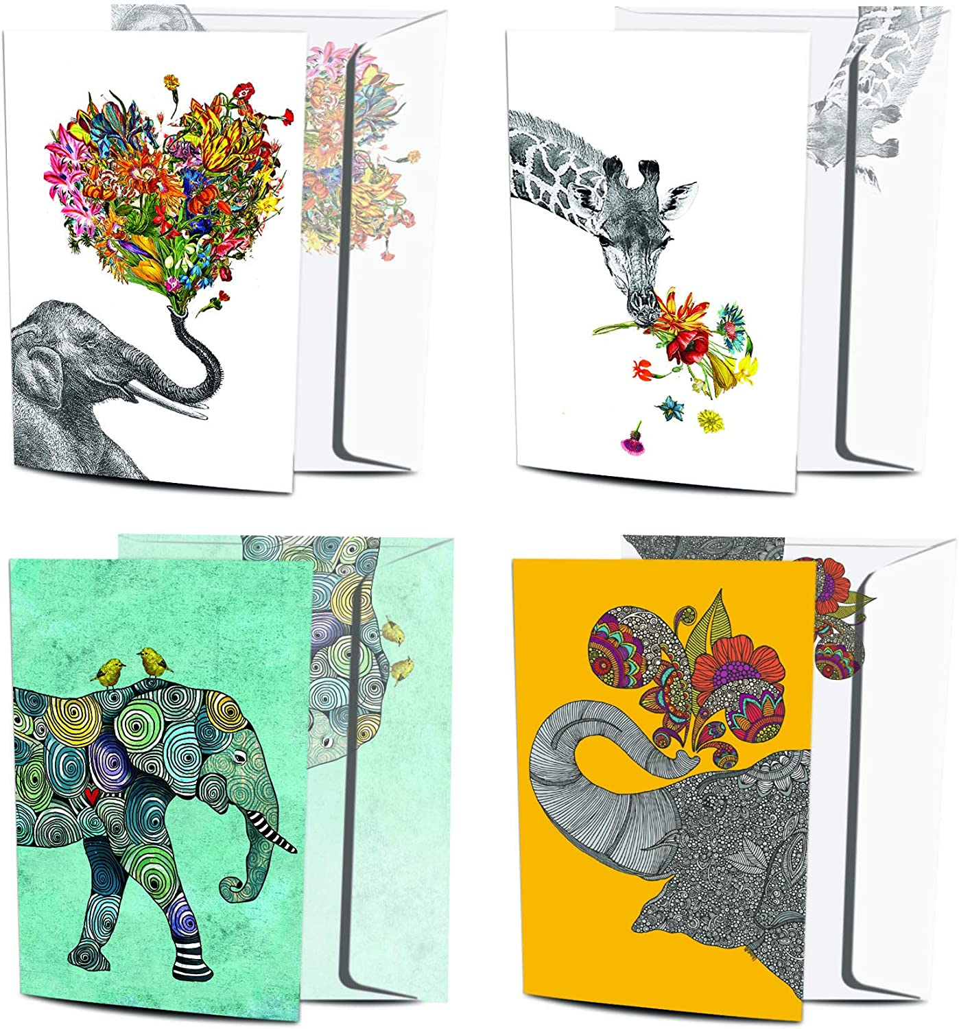 Tree-Free Greetings 8 Ranking TOP13 Pack Greeting sale Recycled Cards Paper 100%
