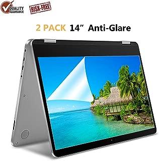 "[2 Pack] 14"" Anti Glare Screen Protector Compatible HP Pavilion 14 /HP ChromeBook 14 /HP Stream 14 /Lenovo Flex 14 Inch/Acer Chromebook 14 /Acer Aspire 14 /ASUS VivoBook 14"