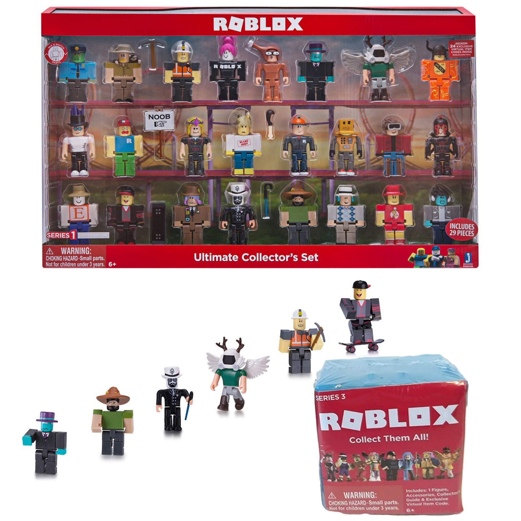 Roblox Celebrity Series Target Exclusive 12pk Figurines Roblox 24 Ultimate Roblox Collection Bundled Wi Buy Online In Guernsey At Desertcart