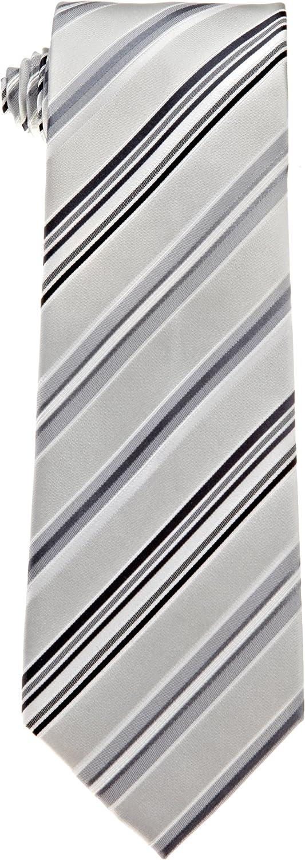 Kenneth Cole REACTION Max 52% OFF Men's Stripe Genuine Necktie Monterey
