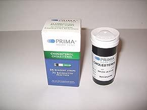 Prima Cholesterol Test Strips (Pack of 25 pcs)