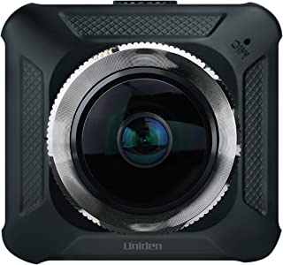 Máy thâu hình đặt trên xe ô tô – Uniden DC720 Dual Camera Lens Virtual 720° Automotive Dashcam Video Recorder, G-sensor with Collision Detection and Parking mode Automatically Starts Recording