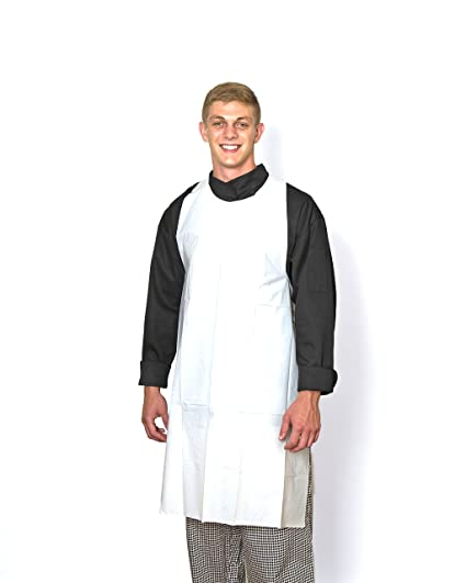 """Disposable Aprons Polyethylene 24/"""" x 42/"""" Individually Packaged MPR-70753"""