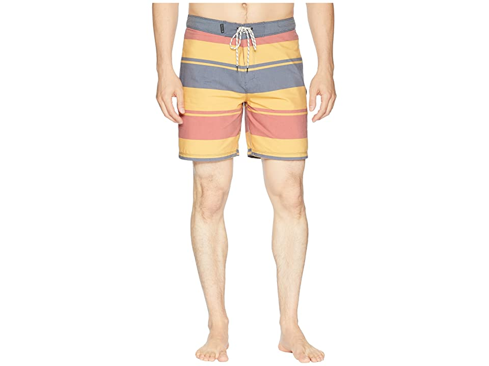 Hurley Pendleton Yellowstone Beachside 18 Boardshorts (Obsidian) Men