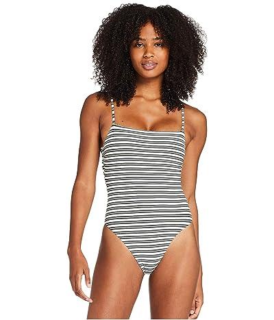 Vitamin A Jenna Bodysuit (Sol Stripe) Women