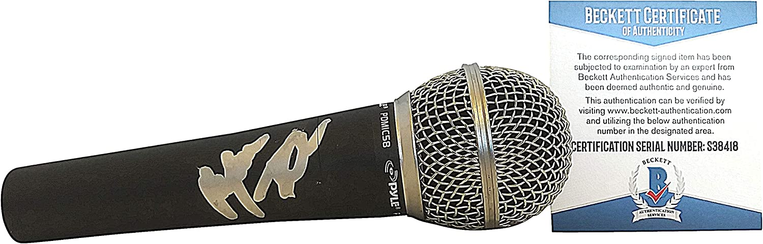 Limited price Alfonso Ribeiro Signed Black Max 71% OFF Microphone Fresh Bel Mic of Prince