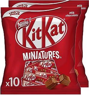 Nestle Kitkat Miniatures Milk Chocolate Bar 110g (Pack of 2)