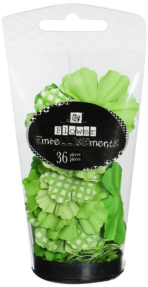 Prima 713218 Petal Palette Handmade Paper Flowers Tube, 3-1/4 by 2-Inch