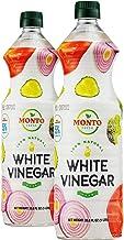 MontoFresh White Distilled Vinegar 5% Acidity | 2 32oz 1 Liter Bottles - Half Gallon Pack | Baking, Dressings, Pickling, K...