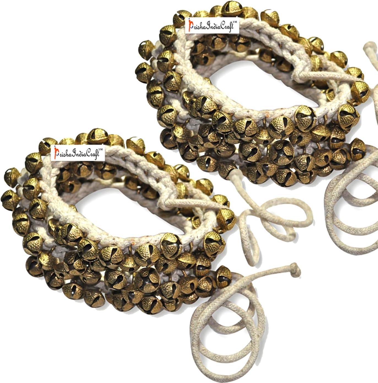 Prisha Quality inspection India Craft Kathak Ghungroo Ghung No. Pair Super-cheap 16 100+100