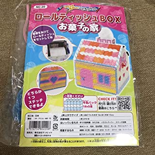 ロールティッシュボックス お菓子の家 製作キッド