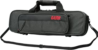 Gator Cases Lightweight Polyfoam Flute Case with Removable Strap and Rubber Interlocking Handle; (GL-FLUTE-A)