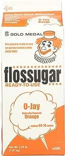 Flossugar Flavour: Orange, net wt. 3.25 lbs