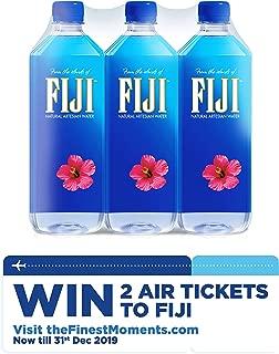 FIJI Natural Artesian Water, 33.8 Fl Oz (Pack of 6)