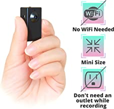 Spy Camera Without WiFi – Small Body Hidden Camera – Mini Spy Camera Motion Activated..