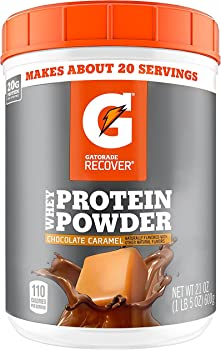 Gatorade Chocolate Caramel Whey Protein Powder (20 servings)