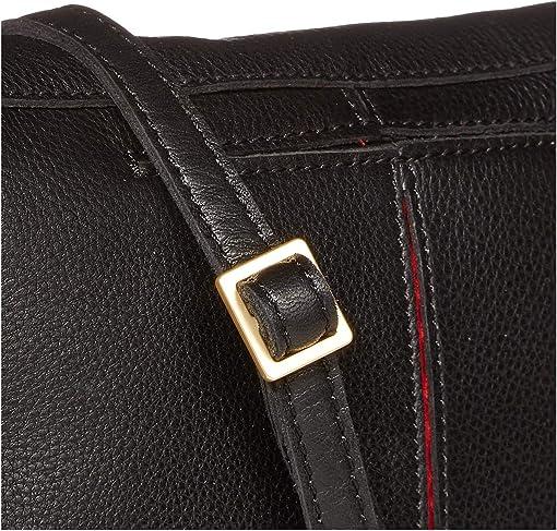 Black/Brushed Gold/Red Zip