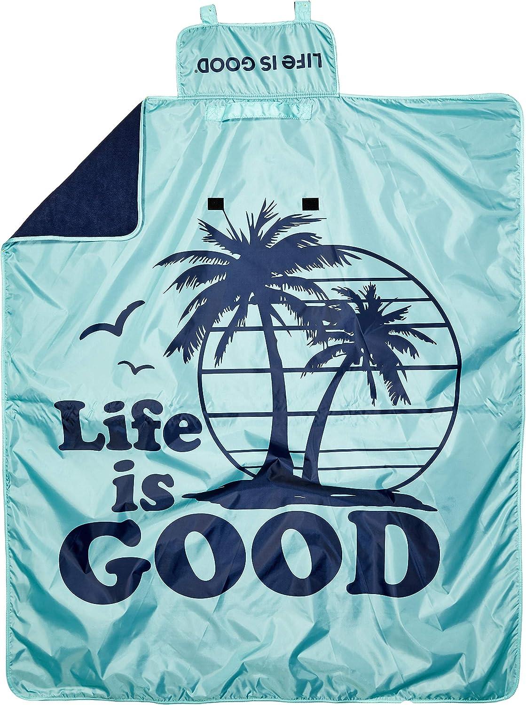 logobrands Life is Good Fanshop Weather Blanket