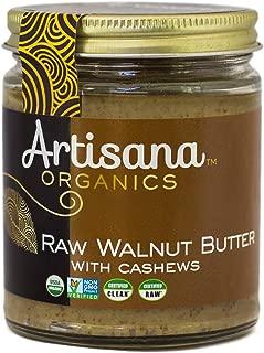 Artisana Organics Raw Walnut Butter with Cashews (1 Pack (8 oz))