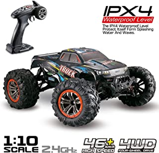 Hosim Large Size 1:10 Scale High Speed 46km/h 4WD 2.4Ghz Remote Control Truck 9125, Radio Controlled Off-Road RC Car Elect...