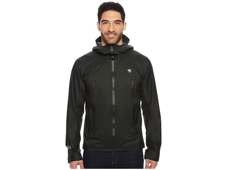 Mountain Hardwear Quasartm Lite II Jacket (Stealth Grey) Men