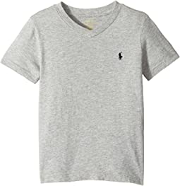 Cotton Jersey V-Neck T-Shirt (Little Kids/Big Kids)