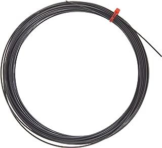 Genesis Black Magic Tennis Racket String, Black, 40-Feet/17-Gauge