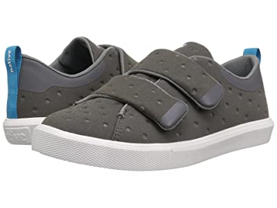 Native Kids Shoes Monaco HL (Little Kid) (Dublin Grey/Shell White) Kids Shoes