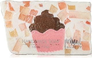 Primal Elements Bar Soap in Shrinkwrap, Cupcake, 6 Ounce