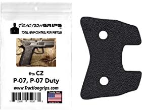Tractiongrips grip overlay decal for CZ P07, P07 Duty 9mm.40