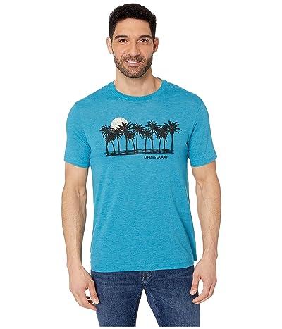 Life is Good LIG Sunset Cool Teetm (Seaport Blue) Men