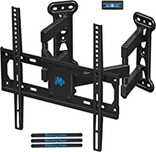 Mounting Dream Full Motion Corner TV Wall Mount Bracket for Most 26-50 Inch LED, LCD, OLED Flat Panel Screen TV, Mount with Swivel Articulating Arms up to VESA 400x400mm and 99 LBS with Tilting MD2501