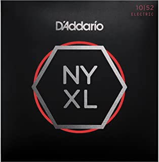 DAddario NYXL1052 Nickel Plated Electric Guitar Strings,Light Top/Heavy Bottom,