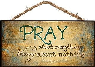 Best pray big wooden sign Reviews