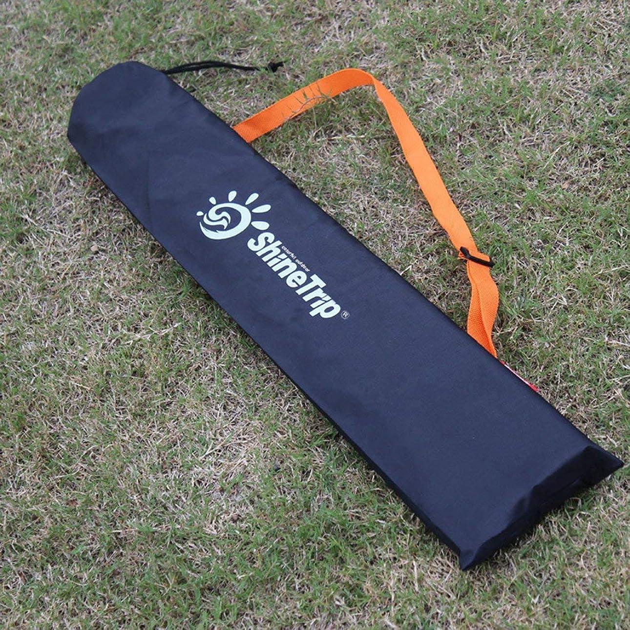 もつれプランテーション水没コンパクトサイズのテントキャノピーキャンプテントサポートポールオーガナイザーポーチバッグブラック収納バッグ屋外テント用品 便利