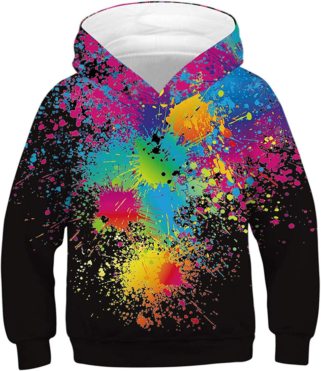 ENLACHIC Boys' Teen Girls' 3D Portland Mall Pullo Superior Novelty Hoodies Cool Printed