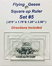 Bloc Loc Flying Geese Square Up Ruler Set #5