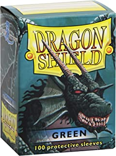 Dragon Shield Protective Card Sleeves (100 Count), Green