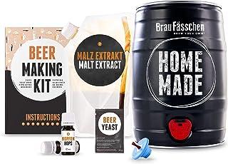 Kit para elaborar Cerveza Artesana Lager en Casa - Producto de Alemania - Disfruta tu cerveza en sólo 7 días - Brewbarrel ...