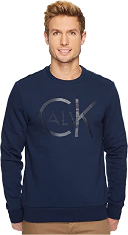 Calvin Klein - Crew Neck Shirt with Chest Logo